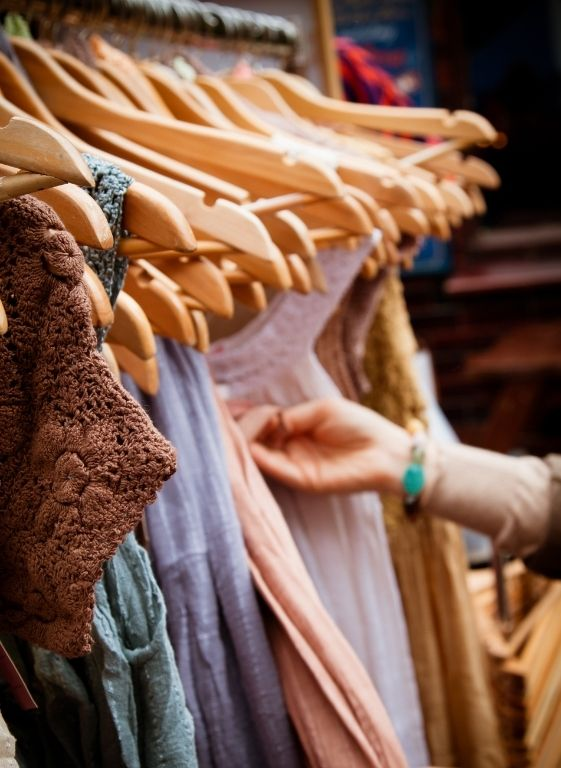 miren edurne prendas de tela reciclada